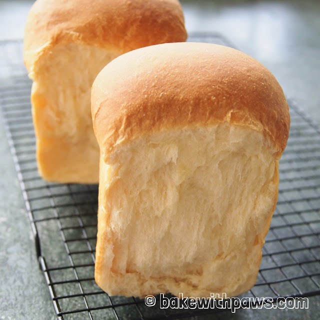 Soft and fluffy white Bread
