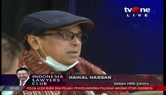 Haikal Hassan: Soal Kerumunan Dijadikan Amunisi Serang Habib Rizieq