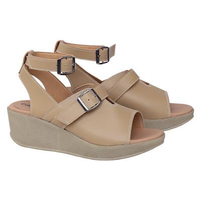 Sandal Wedges Wanita Catenzo DO 078