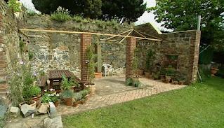 Liz & Rod Collenette Guernsey garden