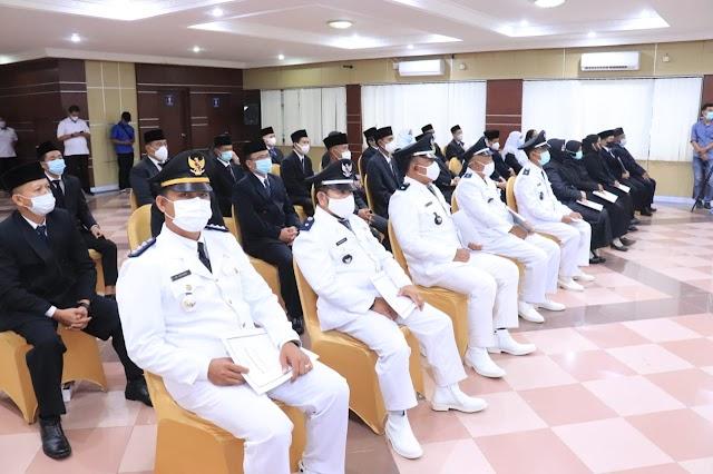 1 JPT Pratama dan 245 Pejabat Pemkab Muba Resmi Dilantik