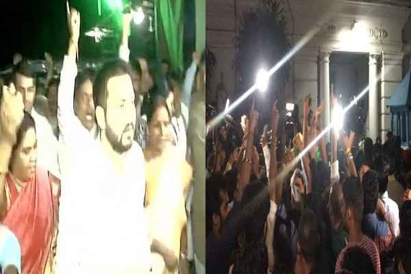 tejashwi-yadav-march-rajbhavan-at-2-am-with-his-rjd-mlas