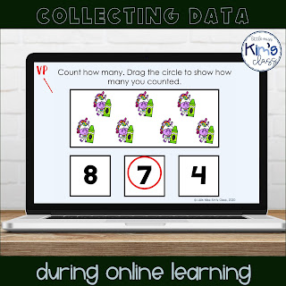 Collecting data during online learning