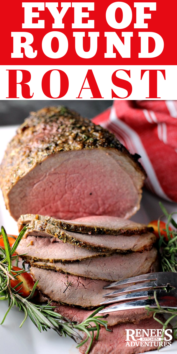 Eye of Round Roast pin