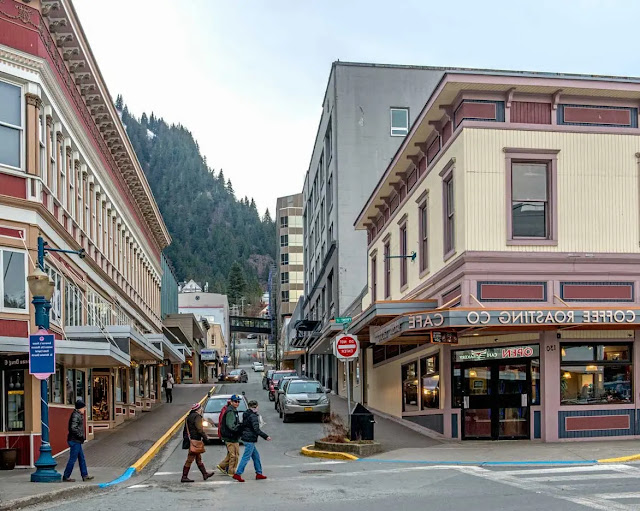 corner of 3rd and Seward Streets in Juneau, Alaska