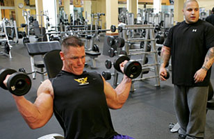 Ryback vs lesnar vs cena who 39 s the strongest - John cena gym image ...