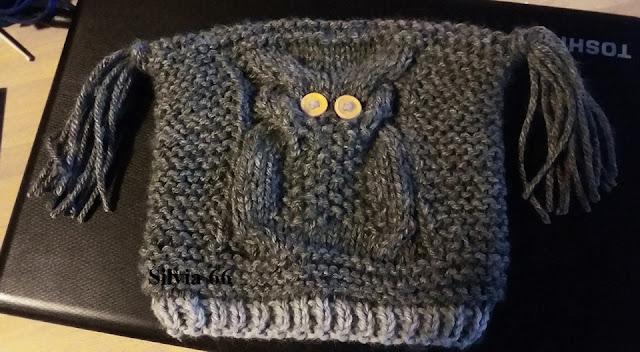 I gomitoli di silvia cappello gufo a maglia