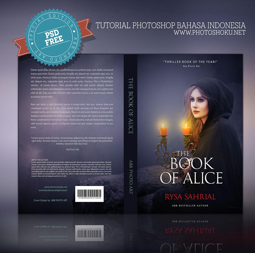 Design cover buku Novel dengan Photoshop CC - Kelas Desain