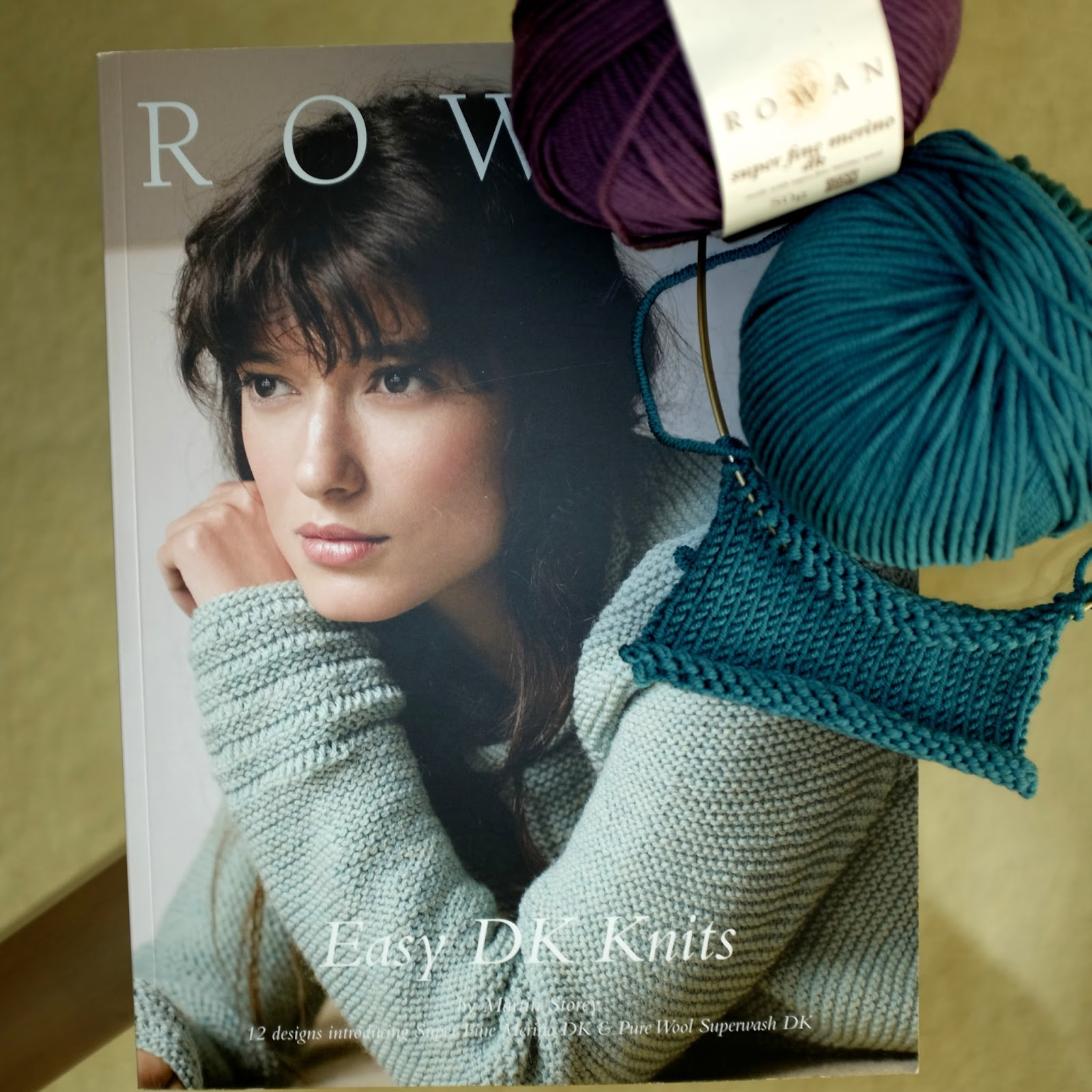 bc770c434bd9 This design collection introduces not 1 but 2 new DK yarns to the Rowan  yarn collection!