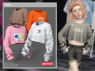 Crop Crew (Kid/Child F) for The Sims 4