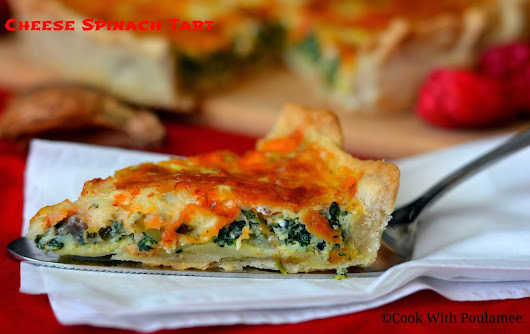 Cheese Spinach Tart`