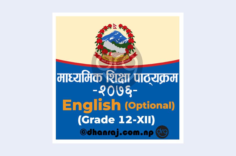 Curriculum-of-Grade-12-XII-English-Optional-Subject-Code-334-2076