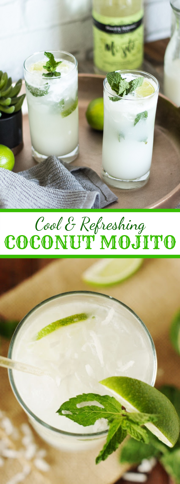COCONUT MOJITO #drinks #fresh