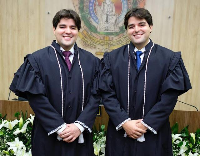 Gêmeos se formam em Direito e se tornam Juízes juntos