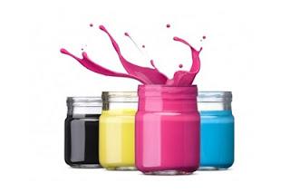 ilustrasi tinta warna