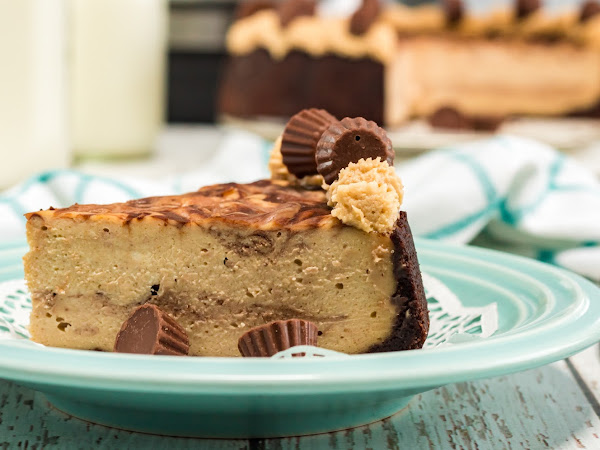 Instant Pot: Chocolate Peanut Butter Cup Cheesecake