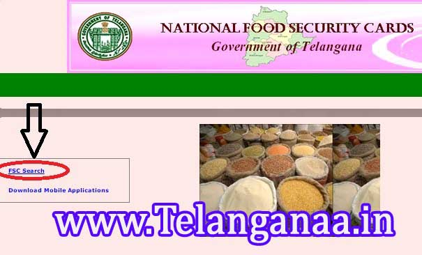 TS Telangana Food Security Card Status Telangana Ration Card Status Online Check