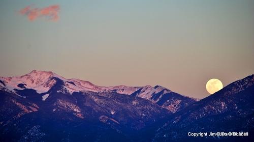 taos new mexico, wheeler mountain