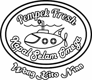"LOGO  Cafe ""Pempek Fresh"""