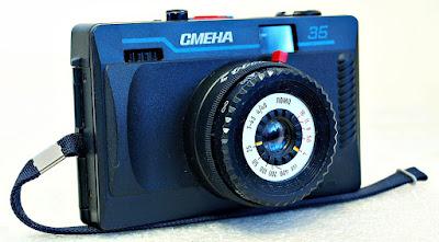 "LOMO Smena 35 (Triplet ""T-43"" 4/40 lens) #008"