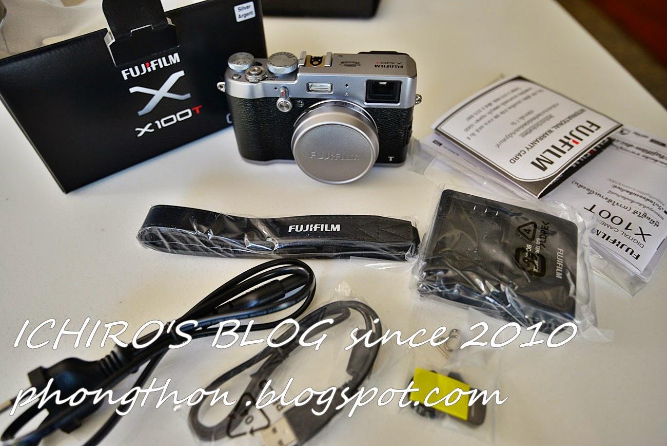 Ichiro's Blog: รีวิว กล้อง FUJIFILM X100T , กล้องสไตล์ ย้อน