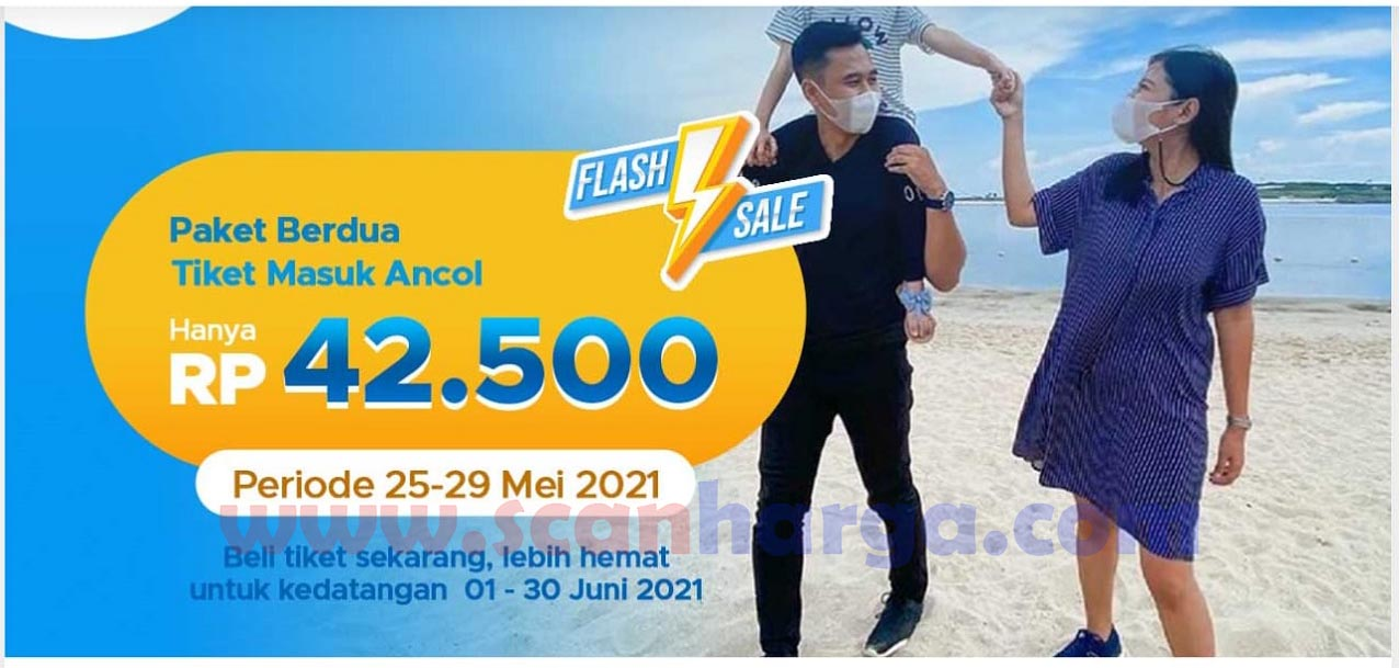 Promo Ancol Flash Sale! Beli Paket Berdua Tiket Masuk Ancol hanya Rp. 42.500