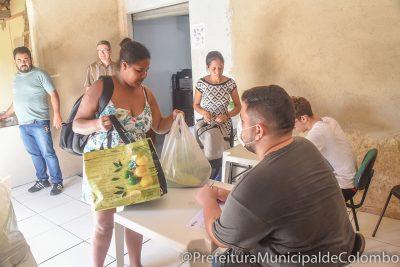 Coronavírus: Famílias em situação de alta vulnerabilidade social recebem kits-alimentos