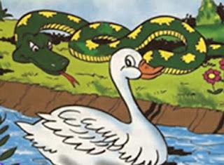 fabulas de iriarte el pato y la serpiente