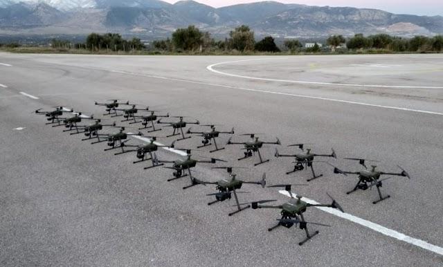 Παραδόθηκαν τα drone «ATLAS 204» σε ΣΞ και ΠΝ – Θα αποτελέσουν το «μάτι» των συνόρων