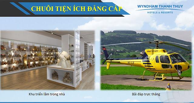Tiện ích dịch vụ tại dự án Condotel Wyndham Lynn Times Thanh Thủy Hotels & Resorts Phú Thọ