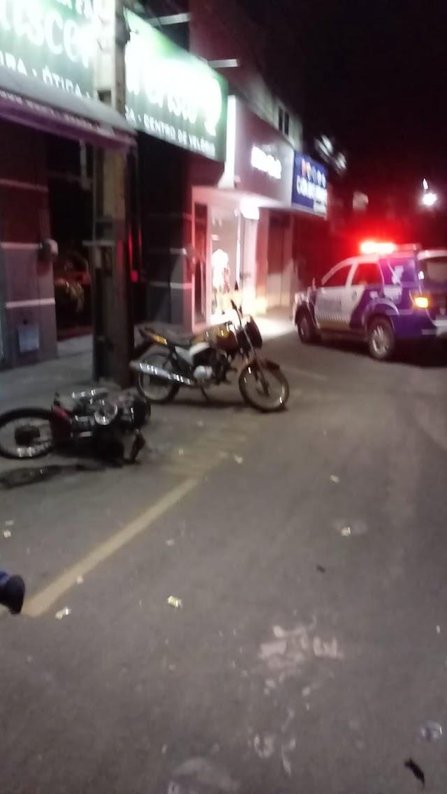 Entregador de delivery sofre acidente de trânsito em Crateús