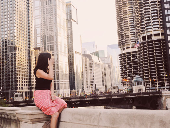 2 days in Chicago itinerary: endless views of the Chicago city skyline