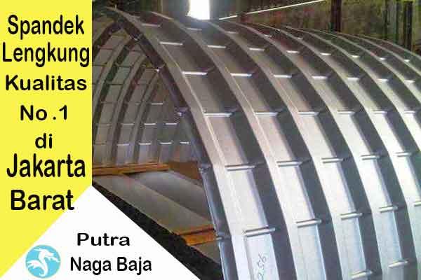Harga Atap Spandek Lengkung Jakarta Barat Per Meter dan Per Lembar