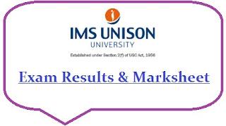 IMS Unison University Results 2021