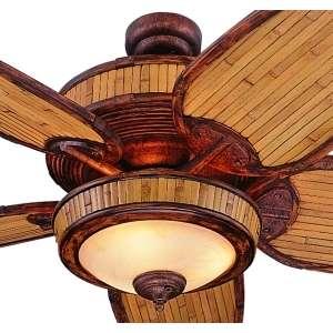 Bamboo Ceiling Fan ~ Bamboo Craft Photo