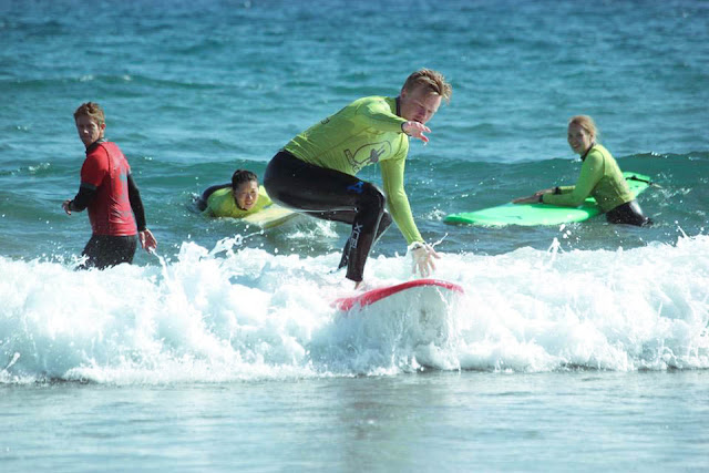 surfing Gran Canaria Surf Canaries Playa del Ingles surffaus