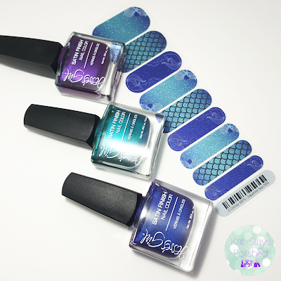 Disney Collection by Jamberry - Sapphire Sea | Kat Stays Polished