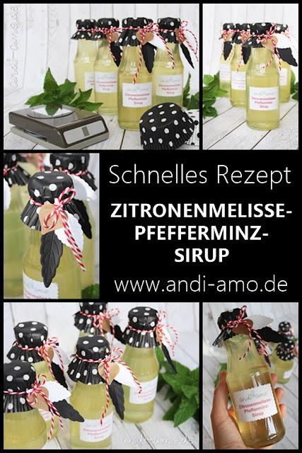 Rezept Zitronenmelisse-Pfefferminz-Sirup