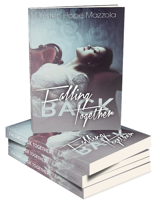 Cover reveal: Falling Back Together by Kristen Hope Mazzola