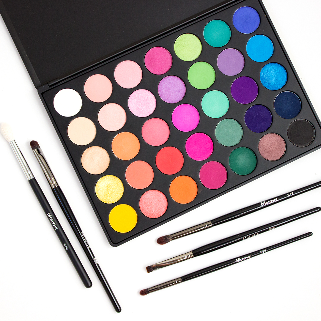Morphe 35B Color Glam Eyeshadow Palette