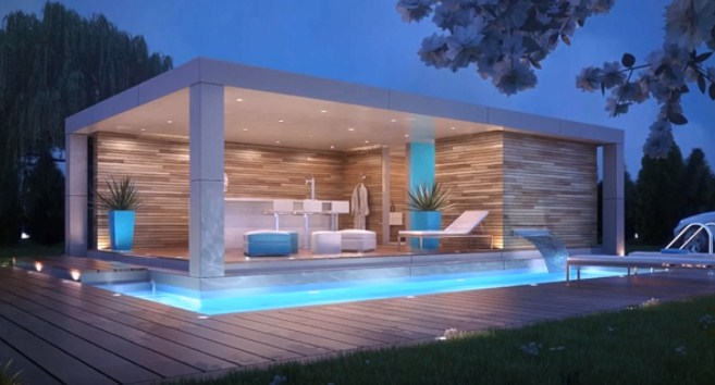 Small House With Swimming Pool Ideas Attractivedesign Org
