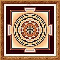 Sri Yantra for spiritual abundance