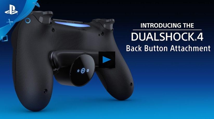 DualShock 4 Controller Mendapat Perangkat untuk Menambahkan 2 Tombol Belakang