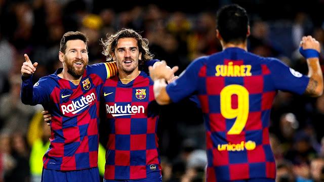 ميسي يقود برشلونة الى دور 16 دوري أبطال أوروبا