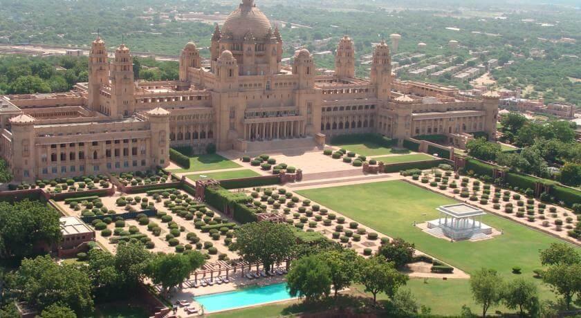Дворец Умайд Бхаван с музеем, Джодхпур. Штат Раджастан