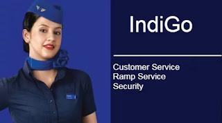 IndiGo Recruitment various  vacancies for Customer Service, Security, Ramp Check the application Process