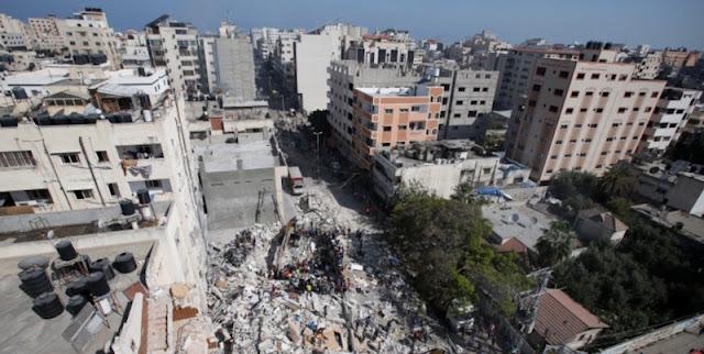 Serangan Terbaru Israel Sasar Rumah Pemimpin Senior Hamas Di Gaza