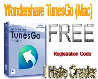 Wondershare TunesGo (Mac) Free Download With Registration Code