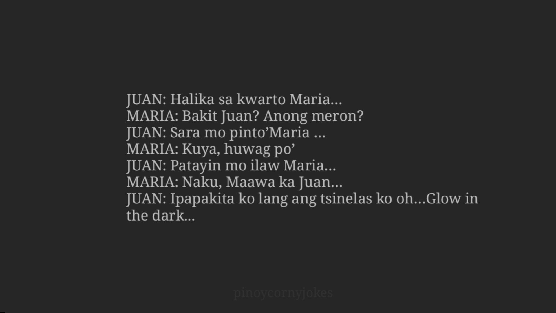 Tagalog Jokes - Halika sa Kwarto