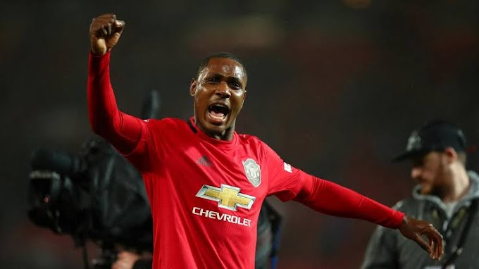 Manchester United striker Ighalo reveals they gained Confidence from Luton Cup win